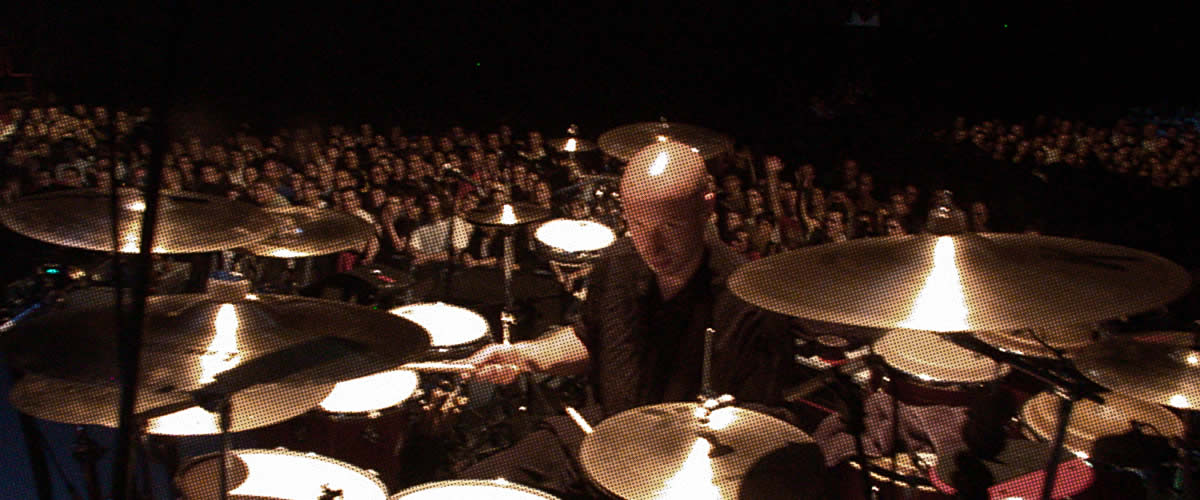 Ged Lynch–Percussionist, session musician & drum tutor